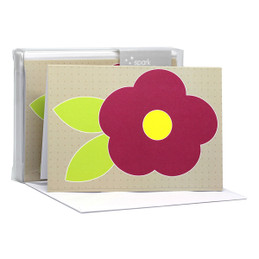 Cute Flower Purple Notecards