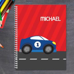 Super Fast Car Kids Notebook