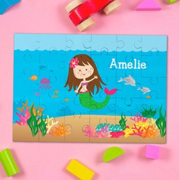 Sweet Mermaid Personalized Puzzle By Spark & Spark