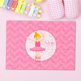Sweet Ballerina Personalized Puzzles By Spark & Spark