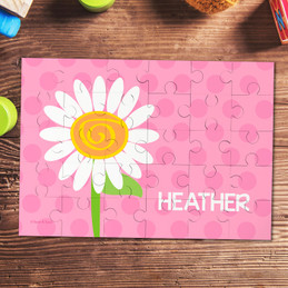 A Daisy For You Personalized Kids Puzzles By Spark & Spark