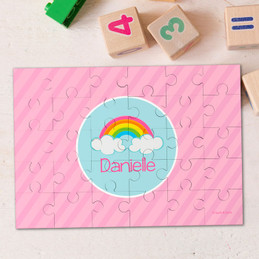 A Rainbow In The Sky Personalized Puzzle By Spark & Spark