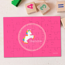 Playful Pony Personalized Name Puzzle By Spark & Spark
