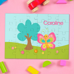 Cute And Sweet Butterfly Custom Puzzles By Spark & Spark
