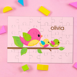Singing Birds Personalized Kids Puzzles By Spark & Spark