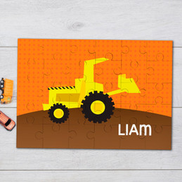 Fun tractor Personalized Puzzles