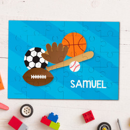 Sports fan Personalized Puzzles