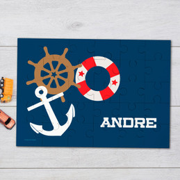 Nautical ways Personalized Puzzles