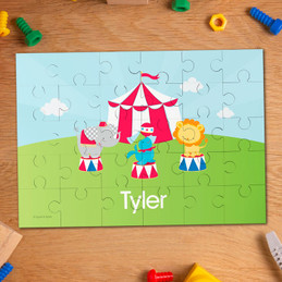 Fun Circus Personalized Puzzles
