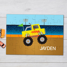 Monster truck Personalized Puzzles