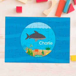 Shark waves Personalized Puzzles