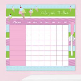 Yummy Ice Cream Toddler Chore Chart