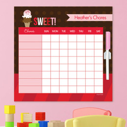Sweet & Yummy Childrens Chore Chart