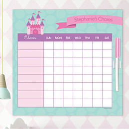 A Castle In The Sky Chore Calendar