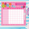 Shiny Bold Flowers Chores For Kids