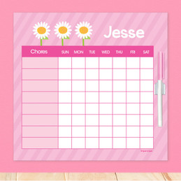 A Daisy For You Summer Chore Chart