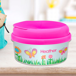 A Butterfly Field Snack Bowls For Kids