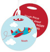 Fly Little Plane Kids Luggage Tags