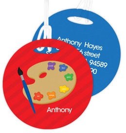 Ready For Art Kids Luggage Tags