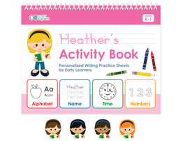 English Horizontal Writing Book For Girls