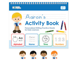 English Horizontal Writing Book For Boys