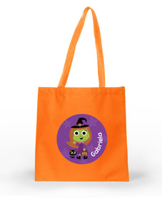 Sweet little witch personalized halloween bags SP11