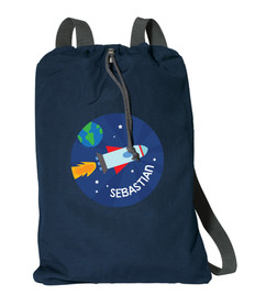 Rocket Launch Personalized Bags