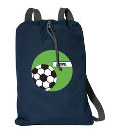 Soccer Fan Personalized Kids Bags