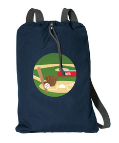 Baseball Fan Personalized Bags For Kids