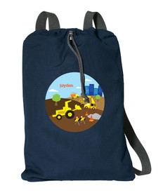Construction Site Personalized Bags