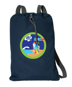 Surf The Waves Personalized Bags For Kids