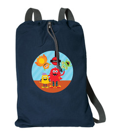 Monster Attack Personalized Kids Bags