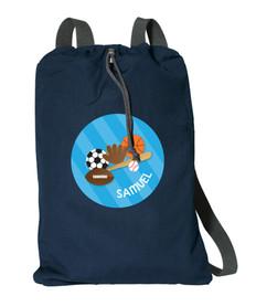 Sports Fan Personalized Bags For Kids