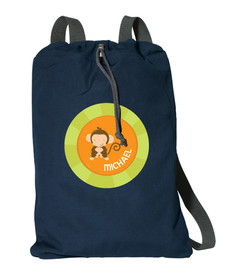 Cute Baby Monkey Personalized Kids Bags