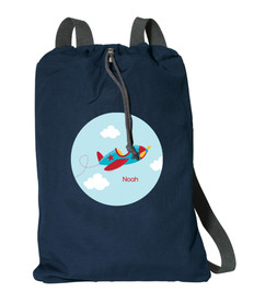Fly Little Plane Personalized Bags