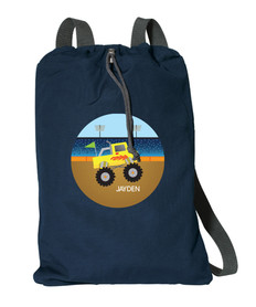 Monster Truck Personalized Bags For Kids