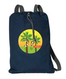 Monkeys In The Jungle Personalized Kids Bags