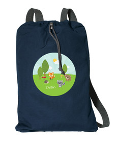 Cute Animals In The Forest Personalized Bags