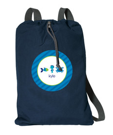 Cute Undersea Creatures Personalized Bags For Kids