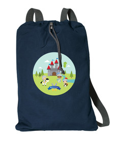 The Three Knights Personalized Kids Bags