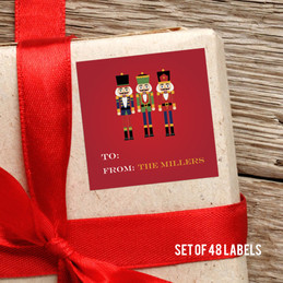 The Traditional Nutcracker Gift Label