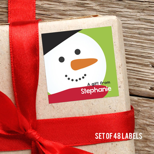 I Love Christmas Time Gift Label