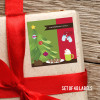 Yummy Xmas Cookies Gift Label