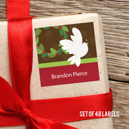 Message Of Peace Gift Label