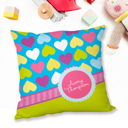 Happy Hearts Pillows