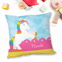 Cute Rainbow Pony Pillows