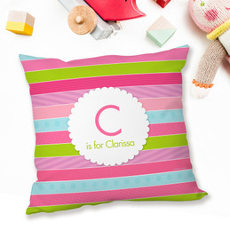 Pastel Stripes Pillows