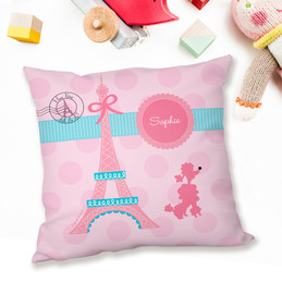 Ohh La La Paris Pillows