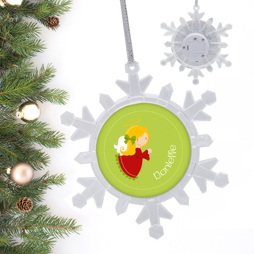 sweet angel personalized christmas ornament by spark spark