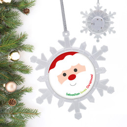 Cookies For Santa Personalized Christmas Ornaments